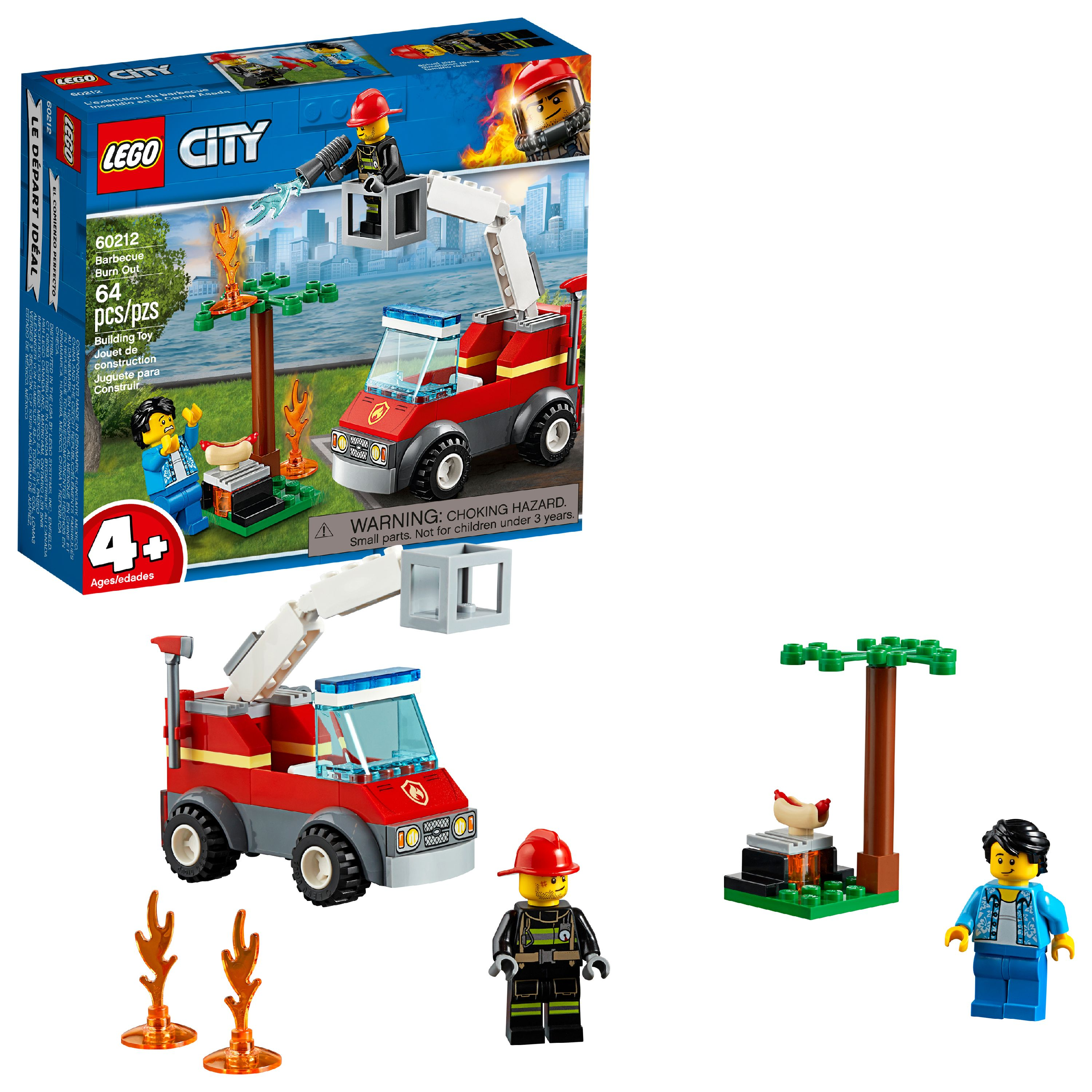 LEGO City Fire Barbecue Burn Out 60212 Building Set