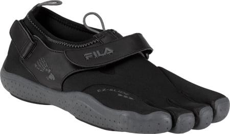 Fila Men's Fila Skele Toes EZ Slide Drainage Black