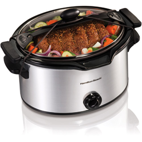 Hamilton Beach 5-Quart Easy-Pour Portable Slow Cooker