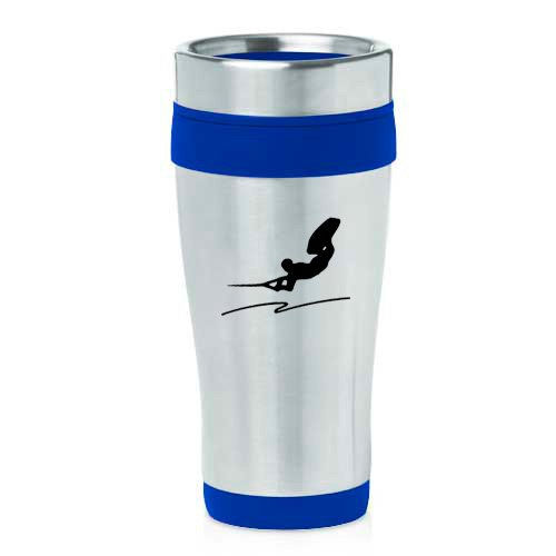 16oz Insulated Stainless Steel Travel Mug Wakeboard (Blue ) by