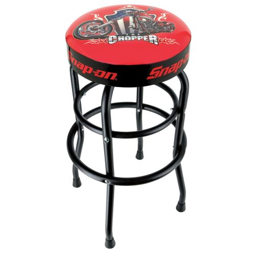 Snap on ficial Licensed Product Swivel Bar Stool with Cushion