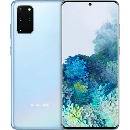 Samsung Galaxy S20+ G985F 128GB GSM Unlocked Android SmartPhone (International Variant/US Compatible LTE) - Cloud Blue