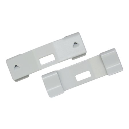 Fabric Vertical Blinds - Vertical Blind Repair Clips for Broken Vertical Blinds - Vane Savers - 15 Pieces Per Pack in White