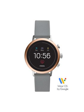 Fossil Gen 4 Venture HR Women's Smartwatch - Gray Silicone - Powered with Wear OS by Google™