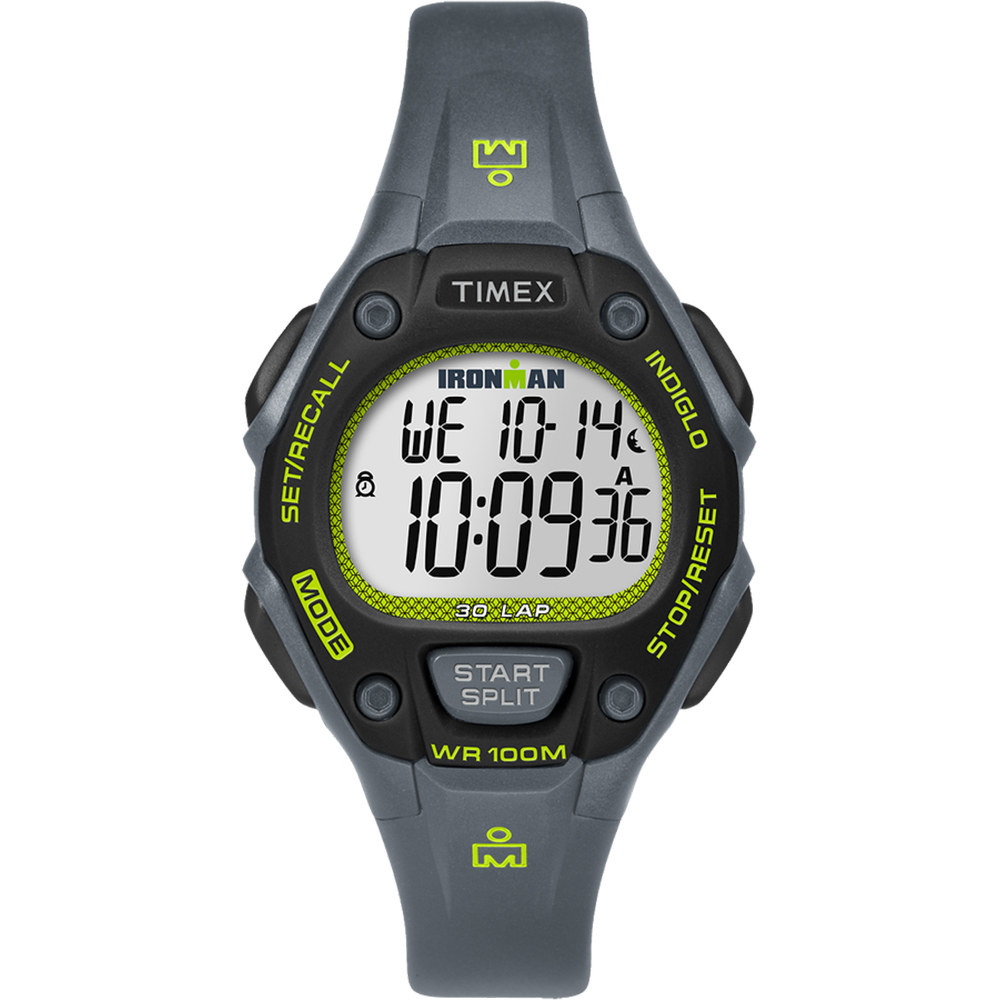 TIMEX IRONMAN CLASSIC 30 WATCH GRAY GREEN BLACK by Timex
