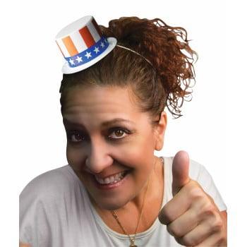 HAT-MINI PATRIOTIC TOP - Patriotic Top Hat