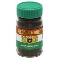 Medaglia d'Oro Instant Espresso Coffee, 2-Ounce