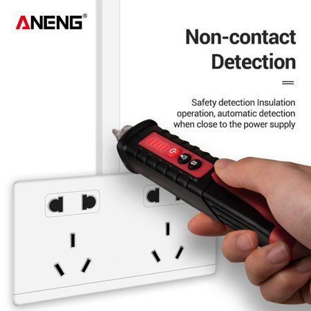 ANENG VD802 Non-Contact AC Voltage Electric Tester Pen Induction Test Pencil With LED Light Electric Detectors Tester - image 1 of 7