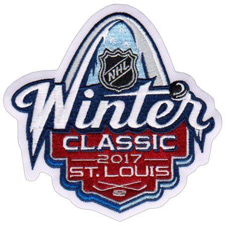 2017 NHL Winter Classic Jersey Patch St. Louis Blues vs Chicago