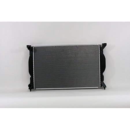 Radiator - Pacific Best Inc For/Fit 2557 02-05 Audi A4/S4 1.8L WITHOUT Engine Oil Cooler 05-08 A4/S4 2.0L Manual Transmission Plastic Tank Aluminum