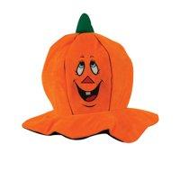 Soft Plush Jack-O-Lantern Pumpkin Hat Halloween Party Hat Costume Accessory
