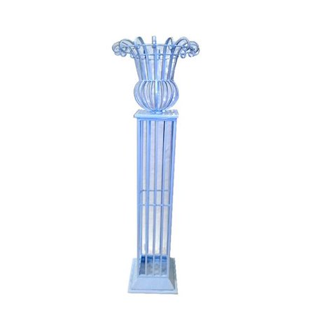 ESSENTIAL D COR & BEYOND, INC Metal Floral Pedestal