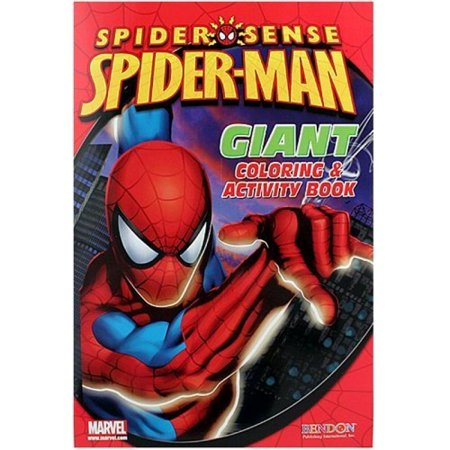 Spiderman 11x16 Giant Coloring & Activity Book, 16 Pgs](Spiderman Coloring Book)