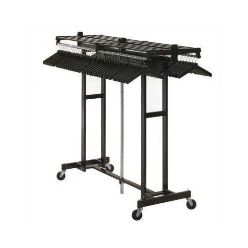 Magnuson Group Mega Rak 62'' H x 25'' W x 72'' D Hanger Folding Rack