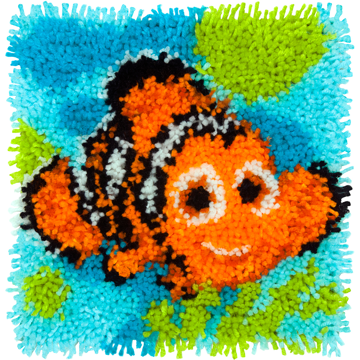 "Vervaco Disney Latch Hook Kit 12""X12""-Nemo - Finding Dory"