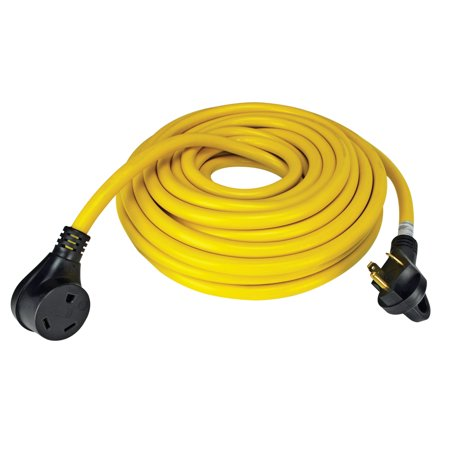 - Quick Products QP-30-50FH 30 Amp RV Cord - Grip Handle Plug, 50'