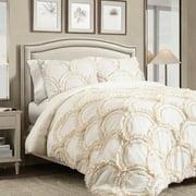 Chic 3-Piece Comforter Set by Lush Decor