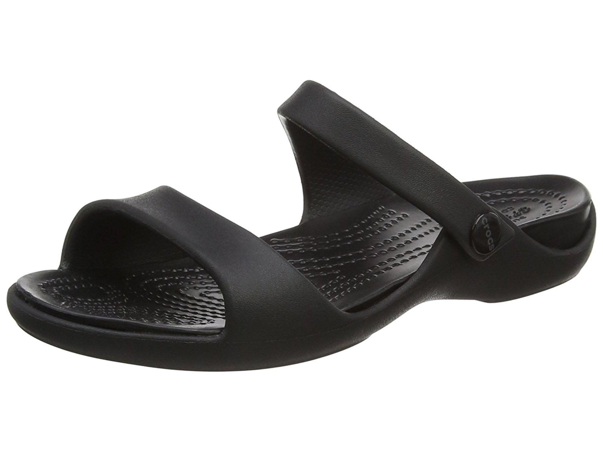 62b14ef50b7f33 Crocs Women s Cleo V Flat Sandal