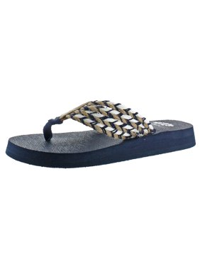 8706e162a Product Image Yellow Box Womens Knit Non Slip Nautical Thong Sandals