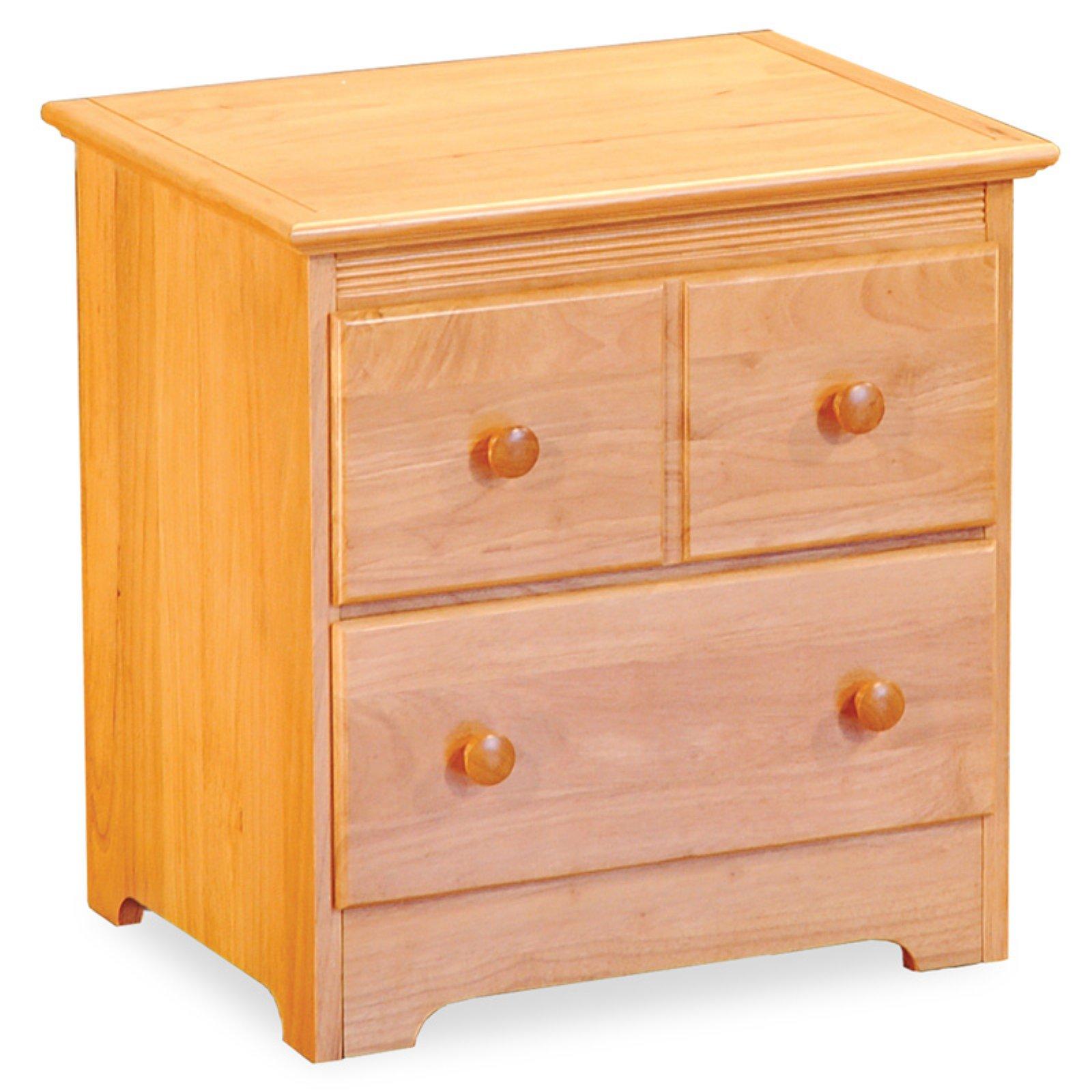 Atlantic Furniture Windsor 2-Drawer Nightstand