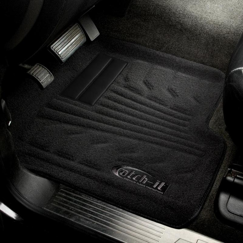 Lund 16-17 Toyota Tacoma Catch-It Carpet Front Floor Liner - Grey (2 Pc.)
