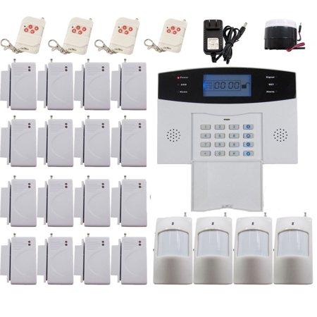 imeshbean professional pstn 108 zones wireless wired home alarm