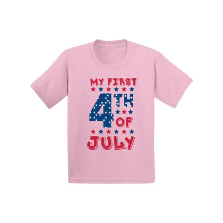 Awkward Styles My First 4th of July Infant Shirt Kids Independence Day Shirt USA Shirt for Baby Girl American Baby America Tshirt for Baby Boy USA Stars Tshirt Cute 4th of July Outfit USA Gifts (Cute Boys Website)