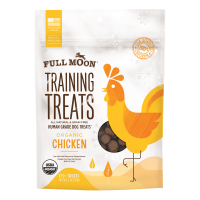 Full Moon All Natural Human Grade Dog Training Treats, Chicken, 6 Ounce
