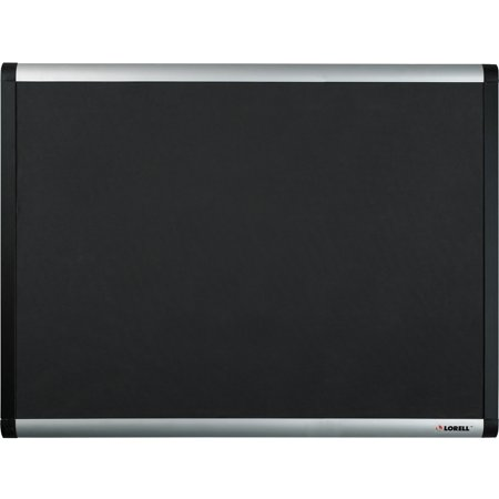 Lorell Bulletin Board (Lorell, LLR75697, Black Mesh Fabric Covered Bulletin Boards, 1 / Each)