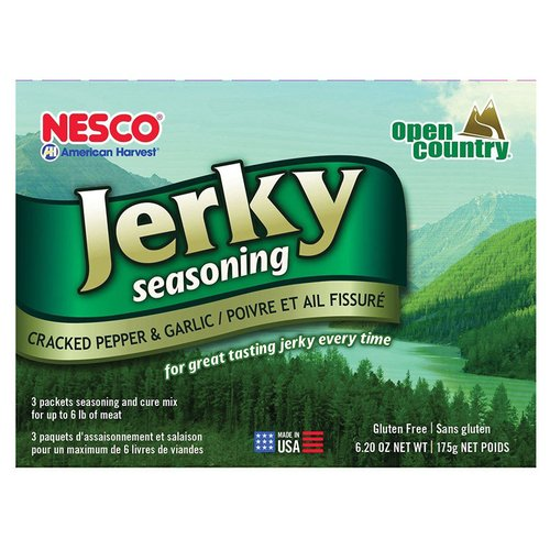 Nesco BJG-6 Jerky Spice Works, Cracked Pepper & Garlic