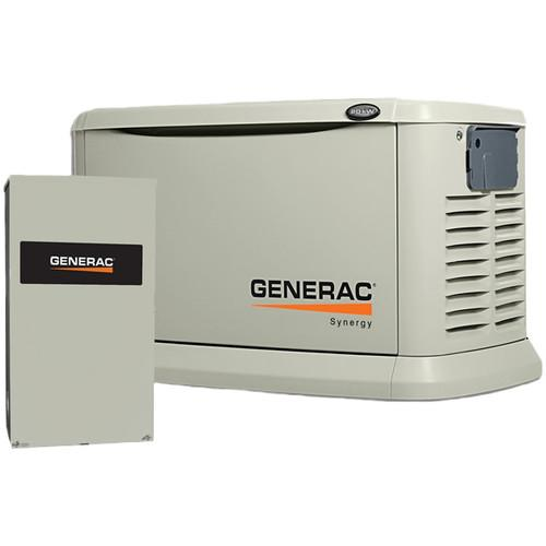 Generac 6055 20 kW Air-Cooled Variable Speed Residential ...