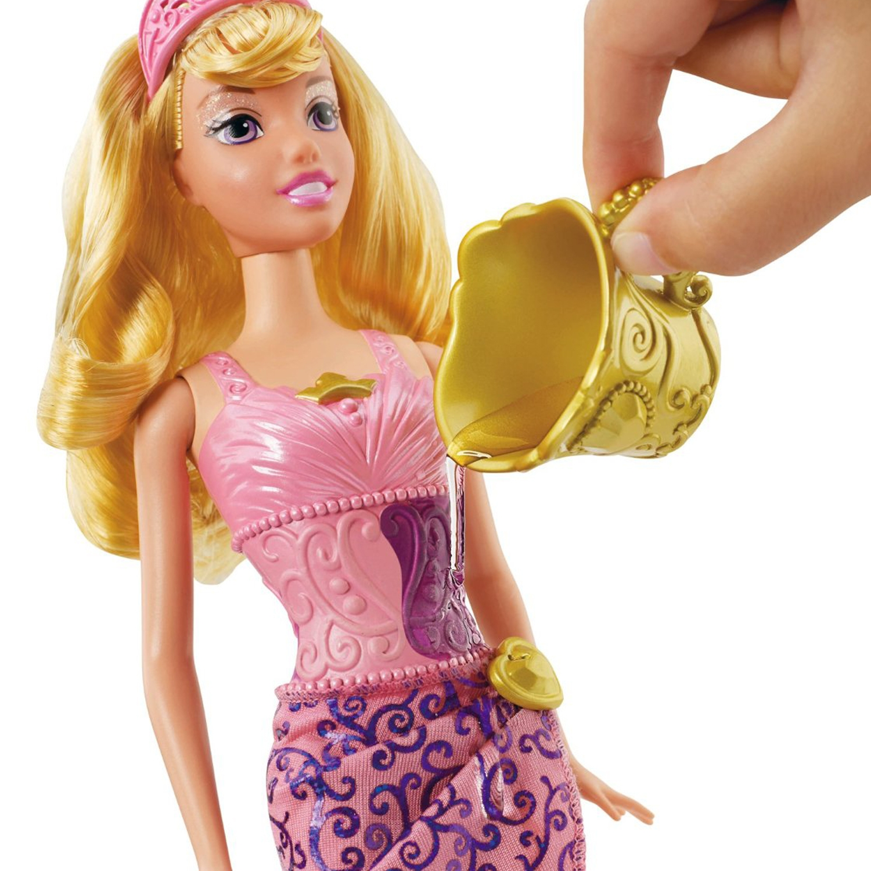 Disney Princess Sleeping Beauty Aurora Doll With Magical Color