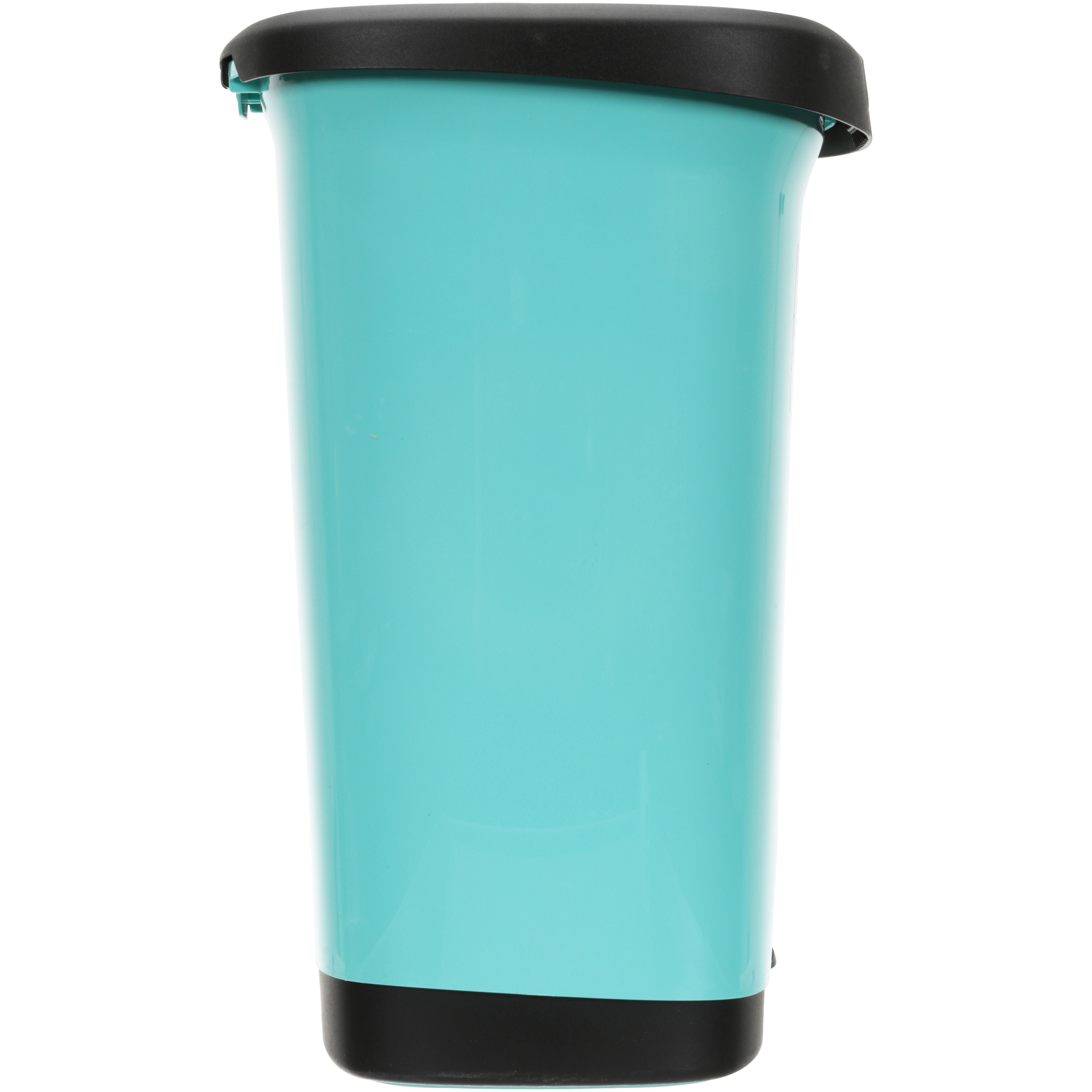 Hefty 7-Gal Textured Step-On Trash Can with Lid Lock and Bottom Cap ...