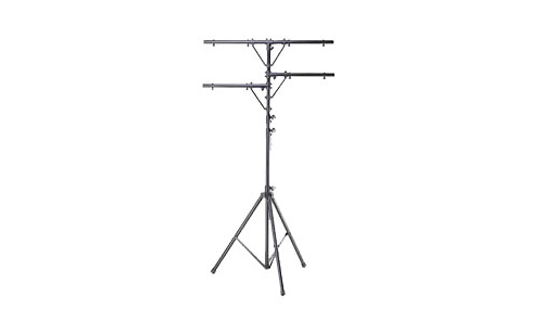 Odyssey Cases LTP1 New 12 Ft. Tripod T-Bar Lighting Stand W  Side & Support Bars by Odyssey Technologies