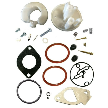 Fits Briggs & Stratton Carburetor Rebuild Kit Master Overhaul Nikki Carbs (Briggs & Stratton 498260 Carburetor Overhaul Kit)