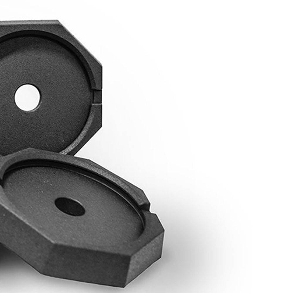 SnapPad EQ 10 Inch Round Landing Feet Motor home RV Leveling Jack Pads Bundle