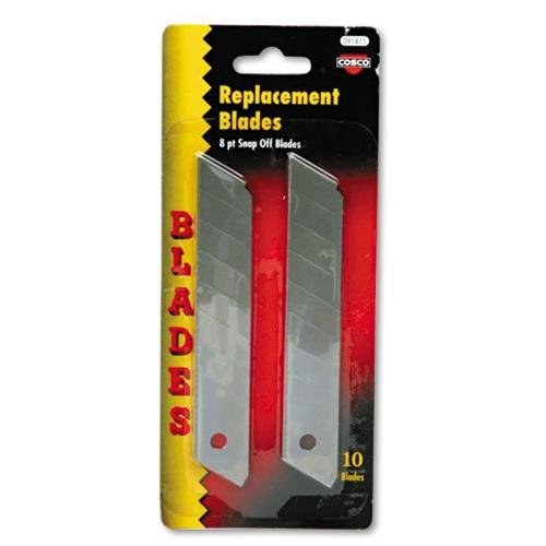 Cosco Snap Blade Utility Replacement Blades Pack - Silver (091471)