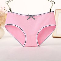 Bownot Women Slim Panties Skinnny Solid Color Underpants