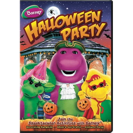 Barney: Halloween Party (DVD) - Halloween Party Flyers Collection