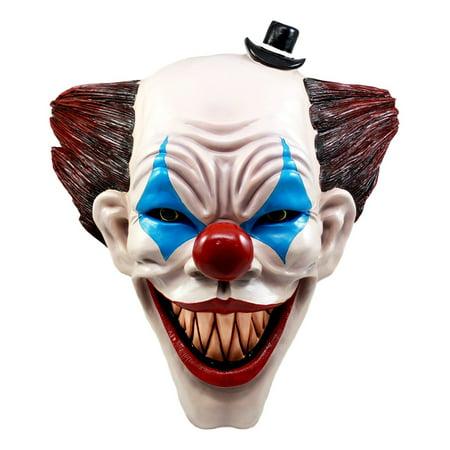 Ebros It Killer Mannequin Clown Head Wall Decor Sculptural Hanging Plaque 15.5