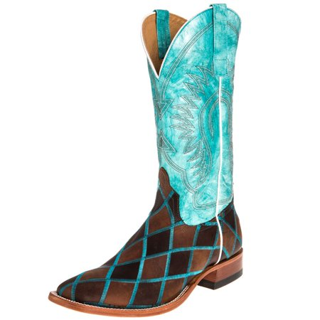 Anderson Bean Kids Boots (Anderson Bean Mens   Insane in the Membrane Patchwork Cowboy Boots )