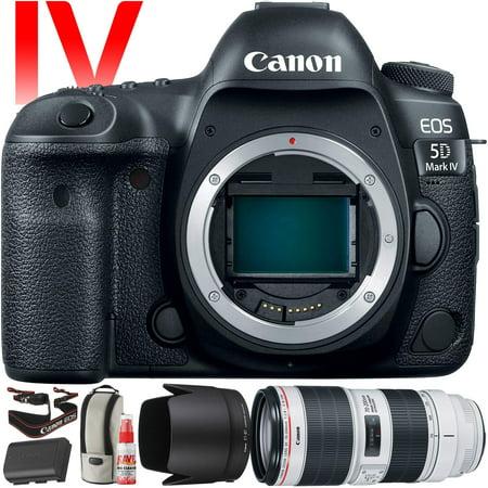 Canon EOS 5D Mark IV DSLR Camera +70-200mm f/2.8L Lens (Intl Model) Version) 30.