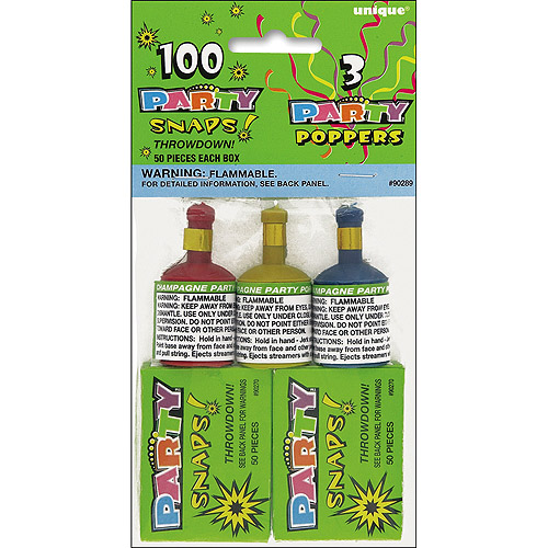 Party Favors, Snaps (100-Count) and Poppers (3-Count) - Walmart.com - Walmart.com Party Favors, Snaps (100-Count) and Poppers (3-Count) - Walmart.com - 웹