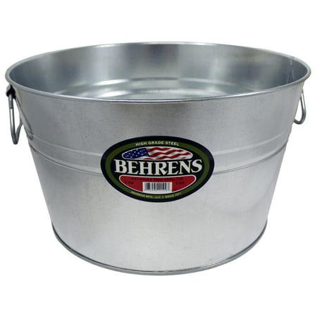 Behrens 5 gal. Steel Multi Purpose Flexi-Tub Round ()