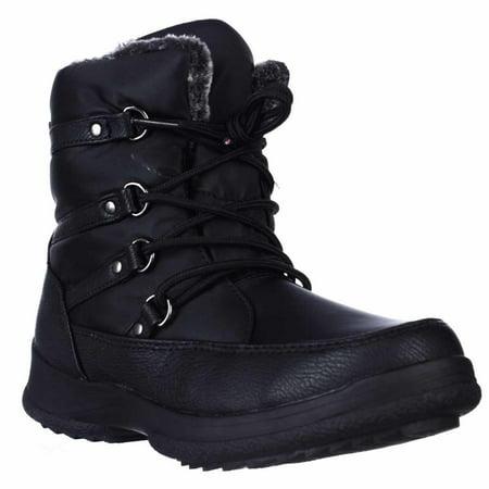 Weatherproof - Womens Weatherproof Tara Lace-Up Winter Boots - Black -  Walmart.com a417cc2c8