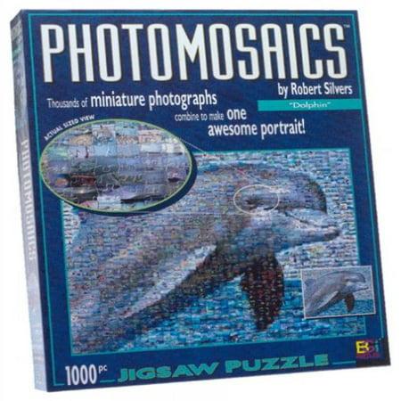 Photomosaic Dolphin Jigsaw Puzzle