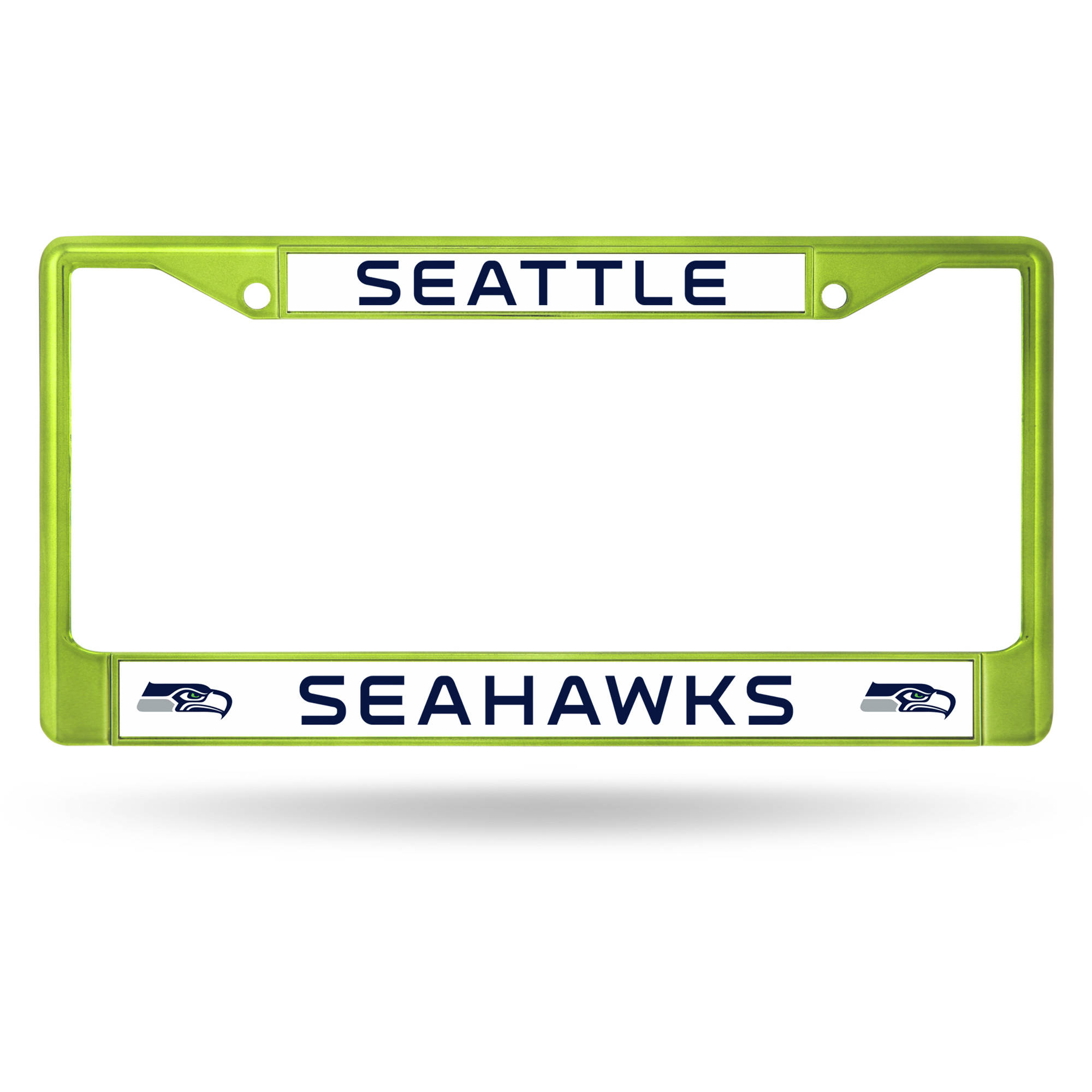 Rico Industries NFL Color License Plate Frame, Seattle Seahawks