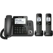Panasonic KX-TGF352M Corded/Cordless Phone and Answering Machine with 2 Cordless Handsets