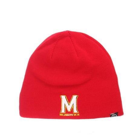 Reversible University of Maryland Terps Beanie Hat Knit Toboggan -  Walmart.com fad51f4b635