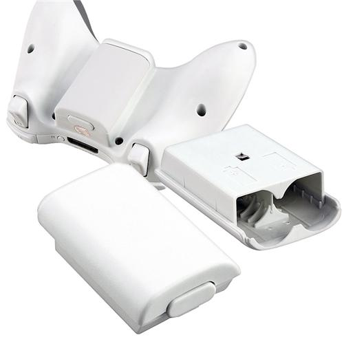 Insten 20 x White Wireless Controller Battery Pack Shell For Microsoft Xbox 360